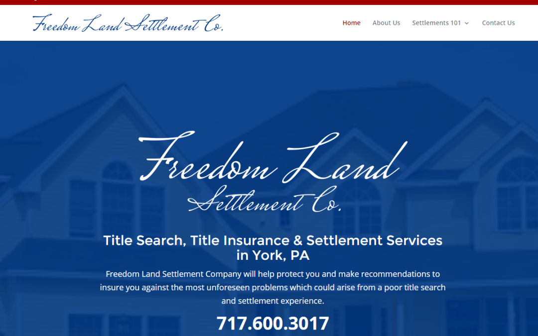 Flash Avenue launches website for Freedom Land Settlement Company