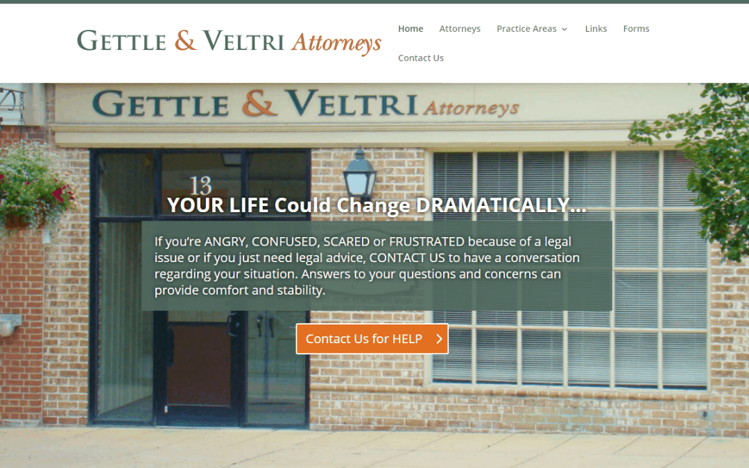 Flash Avenue rebuilds Gettle & Veltri website to be mobile-friendly