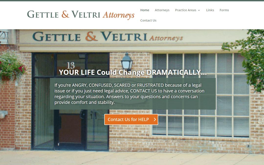 Flash Avenue rebuilds Gettle & Veltri website to be mobile-friendly