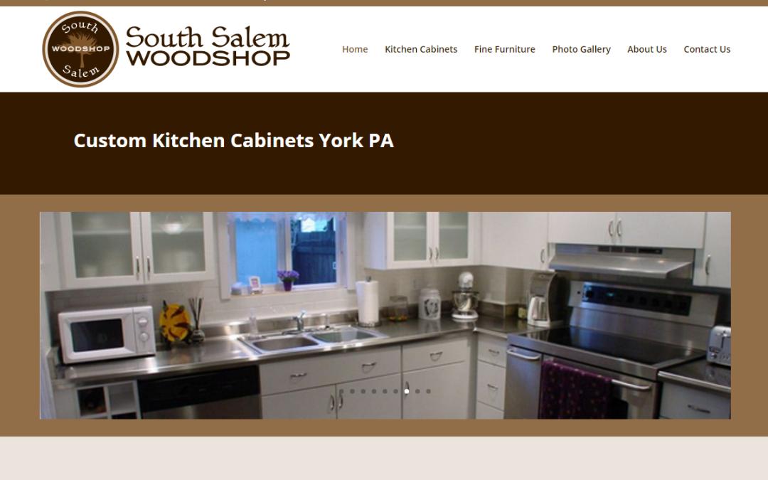 Flash Avenue rebuilds South Salem Woodshop website to be mobile-friendly