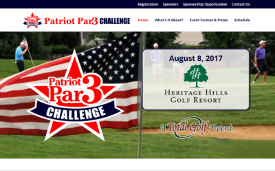 Flash Avenue rebuilds Patriot Par 3 Challenge website to be mobile-friendly