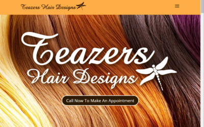 Flash Avenue rebuilds Teazers Hair Designs website to be mobile-friendly