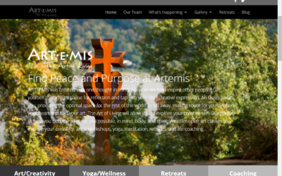 Flash Avenue rebuilds Artemis: The Art of Living website onto more manageable platform