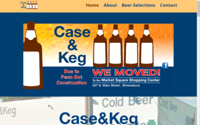 Flash Avenue builds new website for Case & Keg