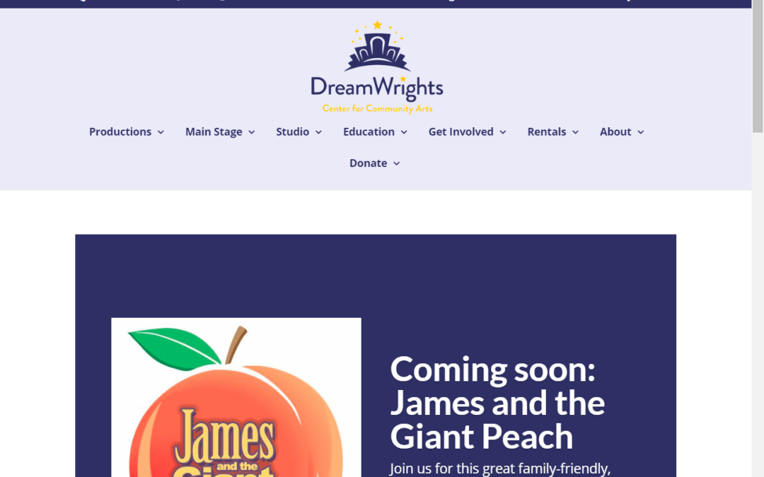 Flash Avenue rebuilds DreamWrights website for staff to edit content directly
