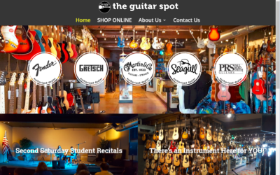 Flash Avenue rebuilds The Guitar Spot website to reflect incredible growth and expansion