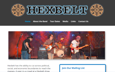 Flash Avenue gives Hexbelt a new web-hosting home and a quick mobile-friendly overhaul