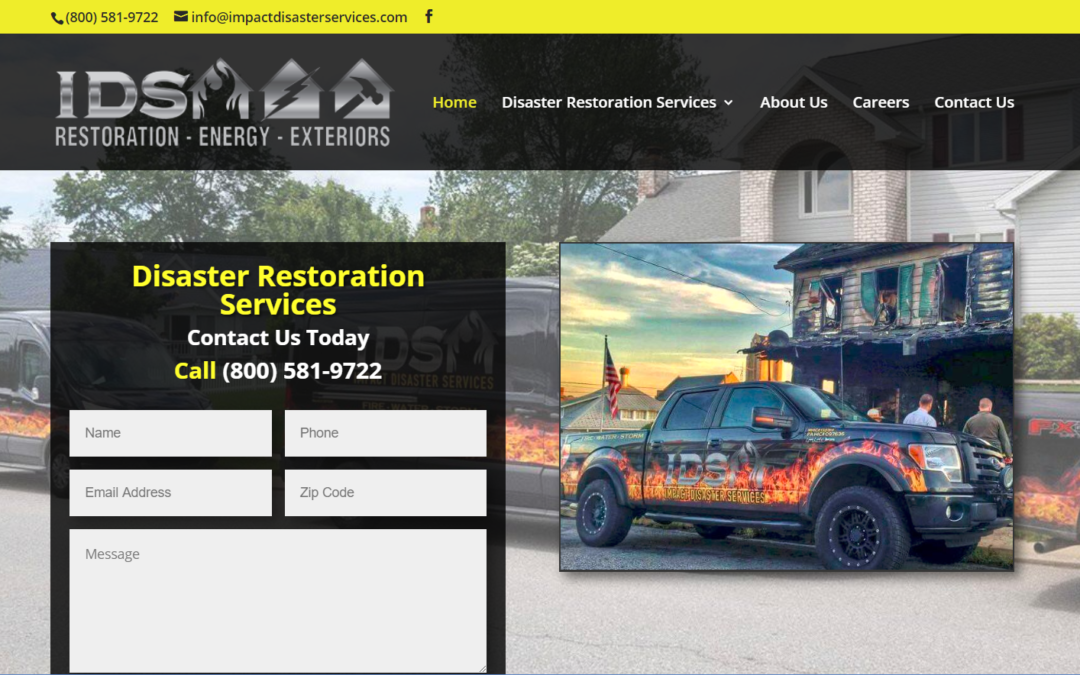 Flash Avenue builds new website for Impact Disaster Services