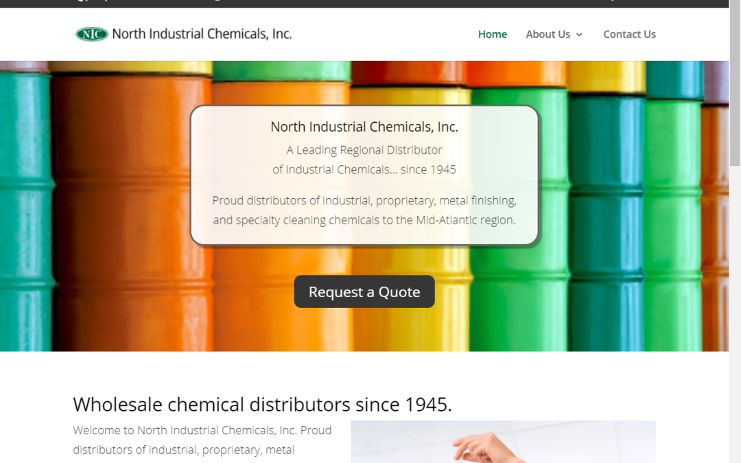Flash Avenue builds online product quoting system for North Industrial Chemicals