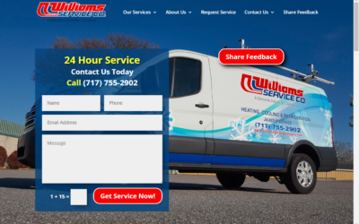 Flash Avenue rebuilds Williams Service Company website as growth surges