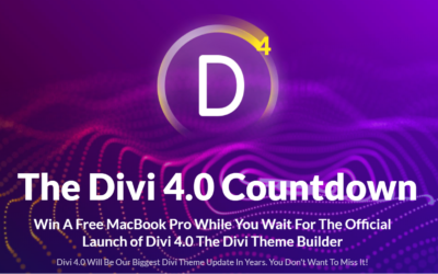 Countdown to Divi 4.0