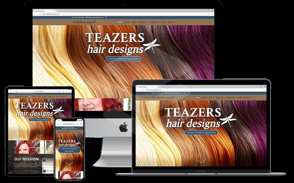 Teazers Hair Designs