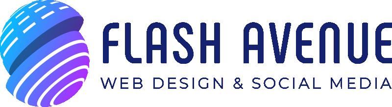 Web Design & Social Media Flash Avenue light